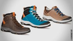 AKU выпустит три серии хайкинговых ботинок с технологией Michelin