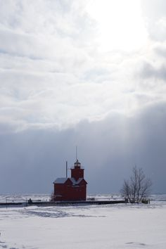 Holland State Park, Holland MI~ Winter 2014