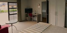 Business Studio Motel, Hamilton, Divider, Studio, Business, Room, Furniture, Home Decor, Bedroom