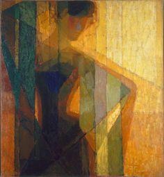 Frantisek Kupka, Plans par couleurs, 1910-1911, Oil on canvas, Collection Centre Pompidou