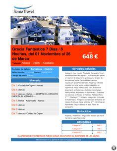 Grecia Fantastica 7 Dias / 6 Noches, del 01 Noviembre al 26 de Marzo desde 648 € ultimo minuto - http://zocotours.com/grecia-fantastica-7-dias-6-noches-del-01-noviembre-al-26-de-marzo-desde-648-e-ultimo-minuto-3/