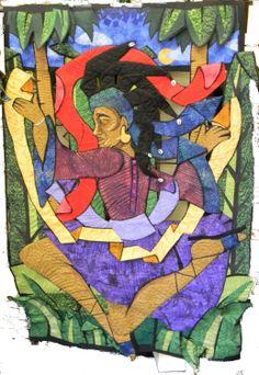 Dancing Spirit quilt by Carolyn Crump