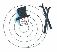 Christmas Ornaments and Decoration Crafts - basteln winter Christmas Crafts For Kids To Make, How To Make Ornaments, Holiday Crafts, Decoration Crafts, Christmas Snowman, Christmas Diy, Christmas Decorations, Christmas Ornaments, Ornament Drawing