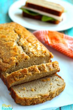 Cassava Flour Bread Paleo Sandwich Bread, Keto Bread, Flours Banana Bread, Best Banana Bread, Fluffy Bread Recipe, Cassava Recipe, Anti Inflammatory Foods List, Yeast Free Breads, Bread Recipes