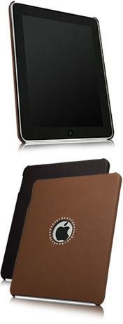 Studded Leather iPad Snap-Fit Shell
