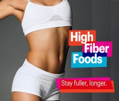 Stay Fuller Longer With These High-Fiber Foods and Snacks. Down at least 25 grams of fiber a day. Fiber has weight loss superpowers: It helps you feel full and slows sugar absorption in your bloodstream, so there are no diet detours when your blood sugar crashes. #14in14