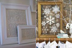 Zimowe dekoracje mieszkania