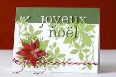 Pam Sparks Joyeux Noel Poinsettia Corner