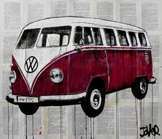 "Saatchi Art Artist Loui Jover; Drawing, ""kombi"" #art"