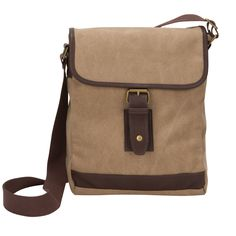 The Riverside Small Canvas Field Crossbody Tablet Messenger Bag Canvas  Messenger Bag e20737ee440f2