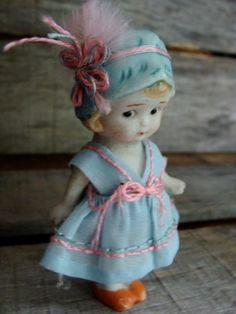 Antique Bisque Jointed Doll