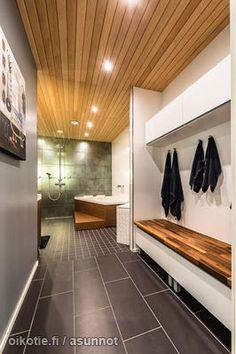 Pukuhuoneen kalusteet Bathtub, Deco, Storage, Home, Standing Bath, Purse Storage, Bathtubs, Bath Tube, Larger