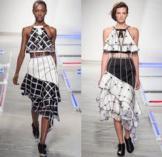 Rodarte 2014 Spring Summer Womens Runway Collection - New York Fashion Week Kate n Laura Mulleavy - East Los Angeles Streetwear Multi-Panel ...