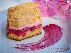 Ce si cum mai gatim: Prajitura cu jeleu de sfecla rosie si crema de mas... Vanilla Cake, Cooking Recipes, Desserts, Cakes, Creative, Food, Postres, Cake Makers, Chef Recipes