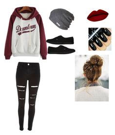 """Untitled #111"" by tayaaa12 on Polyvore featuring Neff, Vans, women's clothing, women, female, woman, misses and juniors"