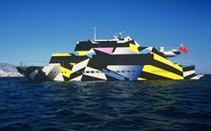 Ivana Porfiri x Jeff Koons – Guilty Yacht