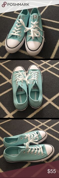 💞Converse💞 New Tiffany Blue Converse Converse Shoes Sneakers