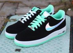 shoes sneakers nike   shoes sneakers nike black air force hologram turquoise nike air nike air force 1 shorts any price exactly like this one chaussure blue