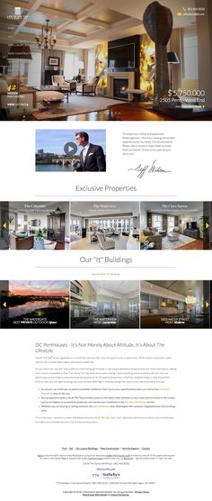 17 Best Custom Designed Real Estate Websites by Dakno