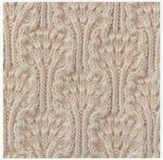 Lace Knitting Stitch #29