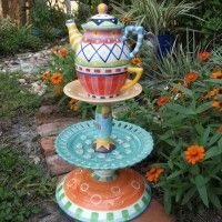 alice in wonderland outdoor decorations - Google Search