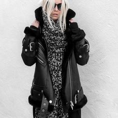 figtny.com   The Arrivals Oversized Shearling Jacket