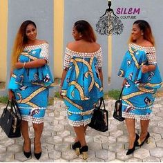 These ankara styles 2017 have been selected to quench your thirst for latest ankara styles, they are breathtaking and will make you look wonderful Latest African Fashion Dresses, African Dresses For Women, African Print Dresses, African Print Fashion, Africa Fashion, African Attire, African Women, Ankara Fashion, African Art