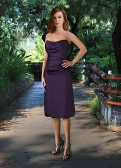 Da Vinci Bridesmaid 9136T Fabric Satin #timelesstreasure
