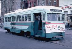 A sad day... last day of streetcars in Washington DC was January 28, 1962. This car was one of nearly 1,000 PCCs that operated in Washington and the Maryland suburbs.