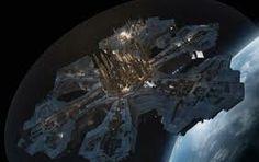 Stargate Atlantis shielded ship in flight Stargate Atlantis, Stargate Ships, Fantasy Movies, Sci Fi Fantasy, Fantasy City, Science Fiction, Sci Fi City, Stargate Universe, Spaceship Interior