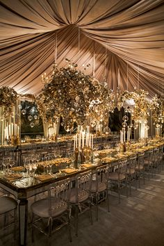 Tablescape ● Mirrored Tabletop
