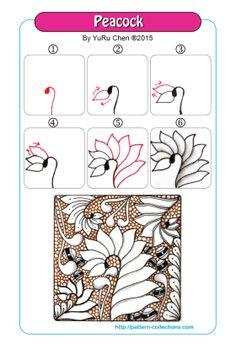Mehndi Tangle Art – pattern-collections.com