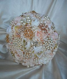 ROSE GOLD Custom order DEPOSIT for a by Elegantweddingdecor