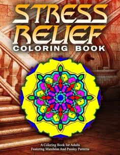 STRESS RELIEF COLORING BOOK Vol.15: adult coloring books best sellers for women (Volume 15)