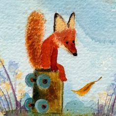 Fletcher and the Falling Leaves/ El otoño hace pensar al zorro