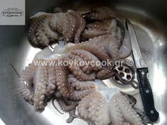 Octopus, Food And Drink, Meat, Recipes, Birthday, Birthdays, Calamari, Ripped Recipes