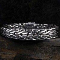 Scott Kay Men's Silver - Bracelet - Doberman