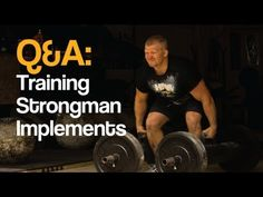 Q&A: Training Strongman Implements at a Commercial Gym http://youtu.be/4sKw1bsjOT8 #strongman #training #gym #workout #exercise #trainhard #liftheavy