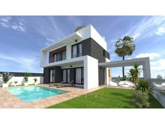 The residential consists of 22 independent villas with private pool and private parking space.  The villas are composed of two models of housing
