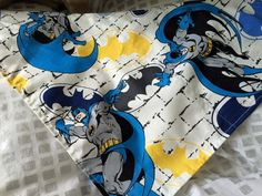 "Batman Bandana- fits neck sizes up to 16"""