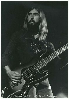Berry Oakley, outstanding original bassist with the Allman Brothers (April 4, 1948 – November 11, 1972).  He and Duane Allman both died in motorcycle accidents, one year and three block apart.  Oakley was 24.