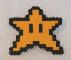 Mario 8-Bit Power Ups - with pin or hair clip option by TheRubyPigdotcom on Etsy