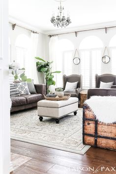 Living Room Ideas Pinterest Addition Cost 579 Best Rooms Images In 2019 Diy For Home Farmhouse Fall With Fur Accents And White Pumpkins Falldecorating Decor Autumn