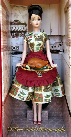thanksgiving doll | Collecting Fashion Dolls by Terri Gold: Thanksgiving Feast Barbie Doll