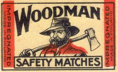 woodsman matches