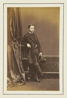 Prince Alfred, 1862 [in Portraits of Royal Children Vol.6 1862-1863] | Royal Collection Trust