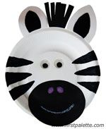 Z is for zebra or zoo craft....lots of cute paper plate animals on this site (everyone can make a diff animal for Noah's ark)