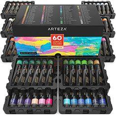 Acrylic Paint Set, Acrylic Colors, School Supplies, Art Supplies, Paint Tubes, Landscape Artwork, Learn To Paint, Artist Painting, Dot Painting