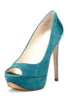 Boutique 9 Ivone High Heel Peep Toe Pump