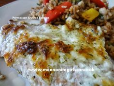 Mennonite Girls Can Cook: Parmesan Crusted Salmon